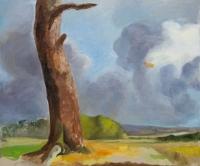 oil on canvas, 75 x 90 cm