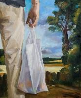 oil on canvas, 90 x 75 cm