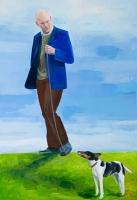 oil on canvas, 175 x 120 cm