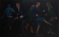oil on canvas, 125 x 200 cm