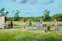 oil on canvas, 120 x 180 cm