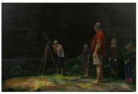 oil on canvas, 120 x 170 cm
