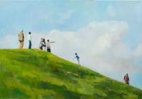 oil on canvas, 140 x 200 cm